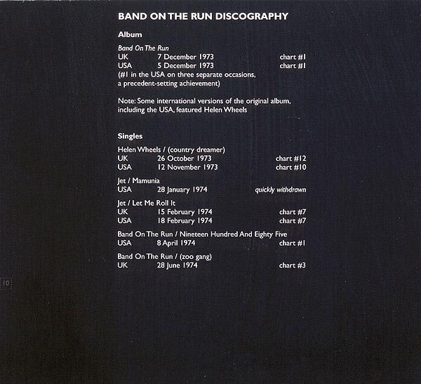 Band On The Run 25th Anniversary
