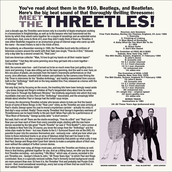 Meet The Threetles (Unofficial album) by The Beatles - The Paul
