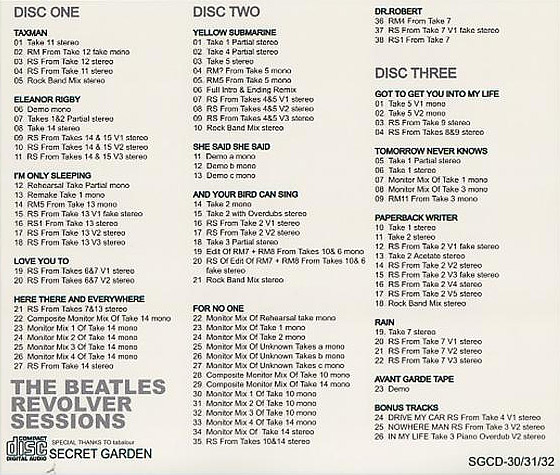 Revolver Sessions (Unofficial album) by The Beatles - The Paul