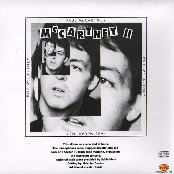 The Lost McCartney Album (Unofficial album) by Paul