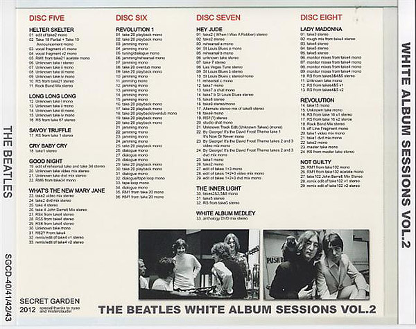 White Album Sessions Volume 2 (Unofficial album) by The