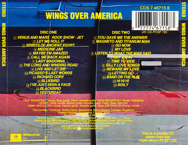 Wings Over America (Official live) by Wings - The Paul