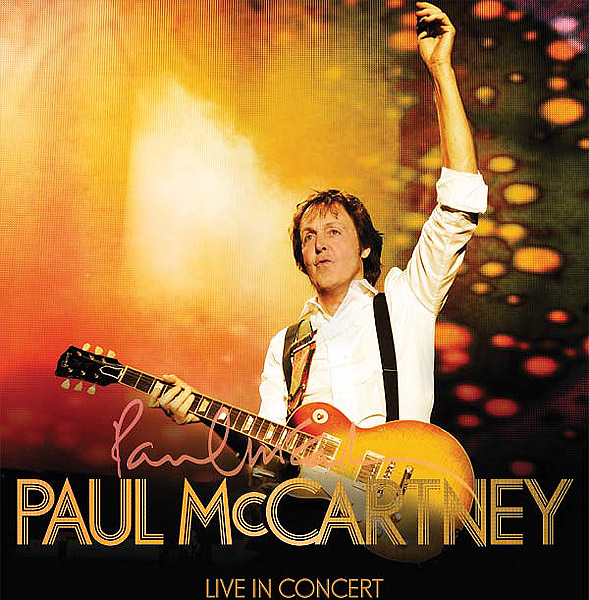Paul McCartney Concert At Citi Field In New York On Jul 21