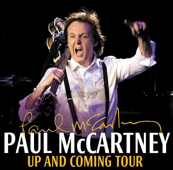 Paul Mccartney Concert At Jobing Arena In Phoenix On Mar 28