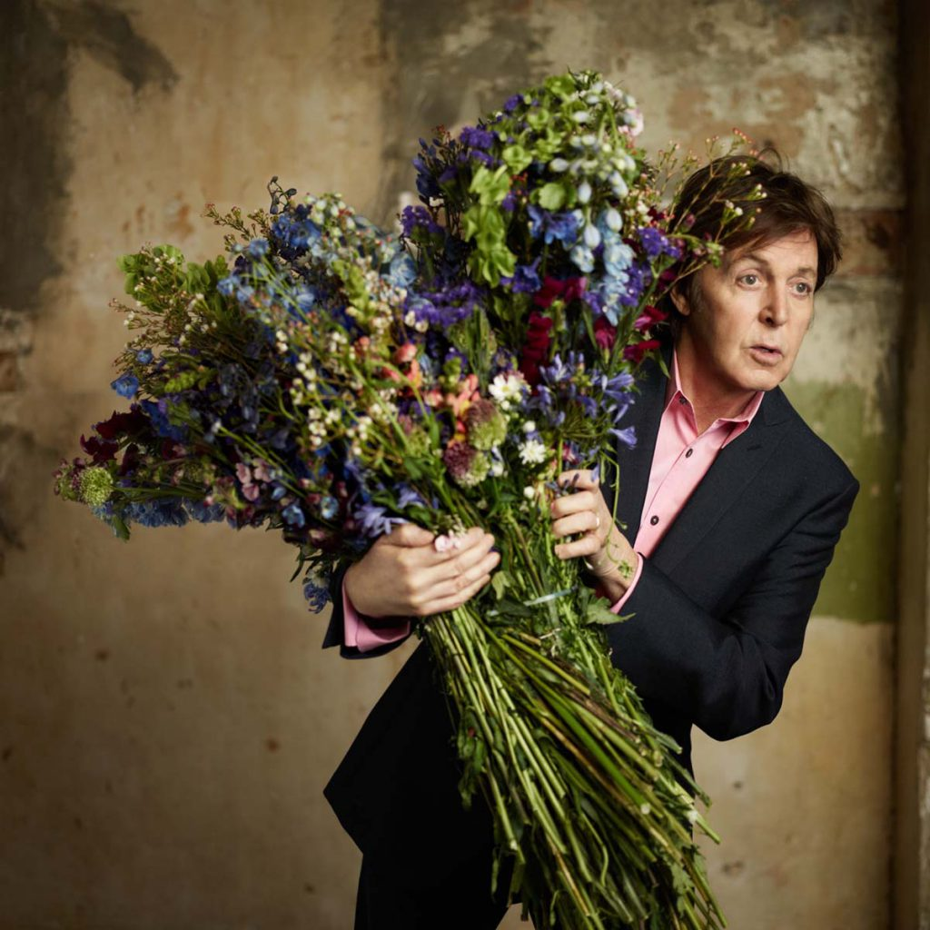 Paul's cover shoot for 'Kisses On The Bottom' in 2012. Photo by Mary McCartney