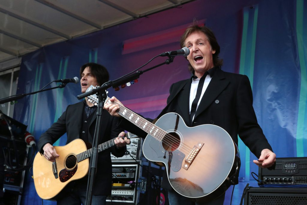 Paul performing in Covent Garden, London, 2013