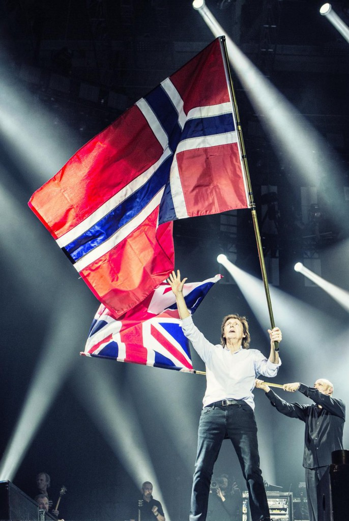 From Twitter: Thank you Norway! #OutThere