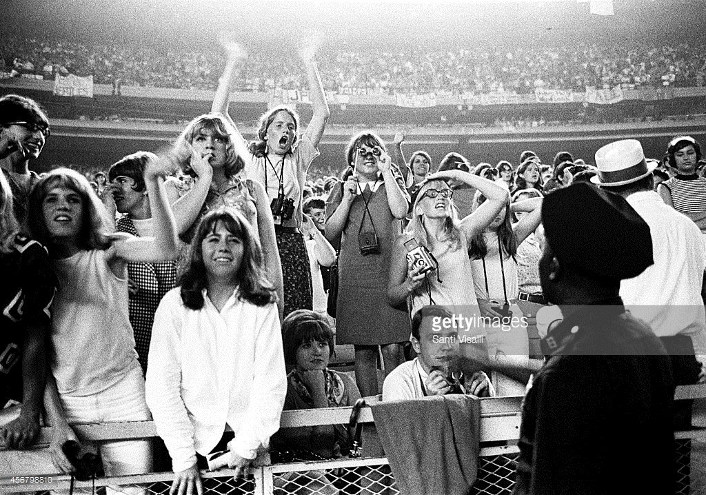 Beatles Concert on August 23, 1966 in New York, New York - Credits: Santi Visalli