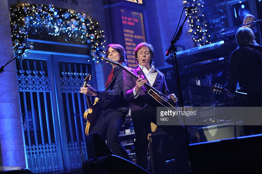 LIVE -- Episode 1585 'Amy Poehler' -- Pictured: Paul McCartney