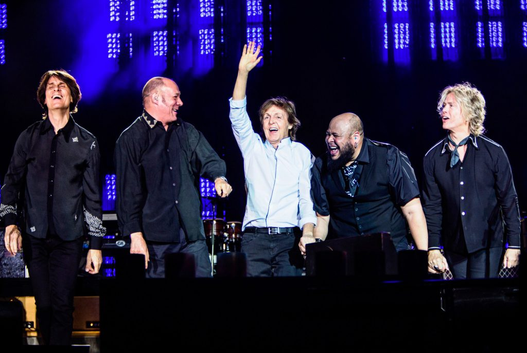 From Twitter: Happy band of brothers! (Olympic Stadium Munich, Germany) #OneOnOne